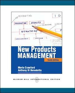 New products management - Merle C. Crawford,Anthony Di Benedetto - copertina