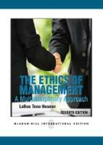 The Ethics of Management - LaRue Tone Hosmer - cover