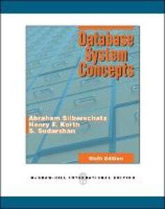 Libro Database system concepts Abraham Silberschatz