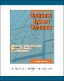 Database system concepts - Abraham Silberschatz - copertina