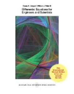 Differential Equations for Engineers and Scientists (Int'l Ed) - Yunus A. Cengel,William J. Palm - cover