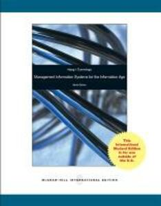 Loose Leaf for Management Information Systems for the Information Age - Stephen Haag,Maeve Cummings - cover