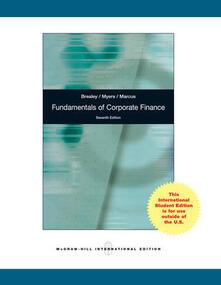 Fundamentals of corporate finance - Richard A. Brealey - copertina