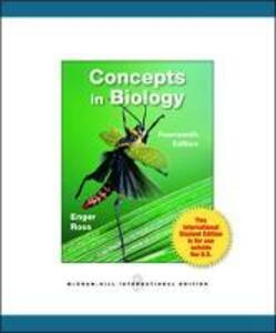 Concepts in Biology - Eldon D. Enger,Frederick C. Ross,David B. Bailey - cover