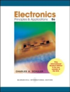 Electronics Principles and Applications with Student Data CD-Rom - Charles Schuler - cover