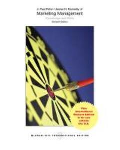 ISE MARKETING MANAGEMENT - J. Paul Peter - cover