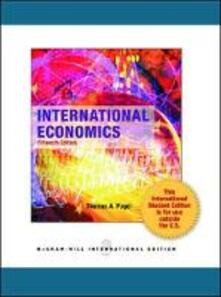 International economics - Thoma A. Pugel - copertina