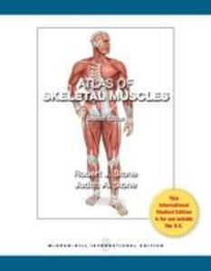Atlas of Skeletal Muscles - Robert Stone,Judith Stone - cover