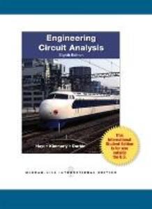 Engineering Circuit Analysis - William H. Hayt,Jack E. Kemmerly,Steven M. Durbin - cover