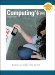 Computing Now - McGraw-Hill Education - cover