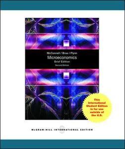 Microeconomics Brief Edition - Campbell R. McConnell,Stanley L. Brue,Sean Masaki Flynn - cover
