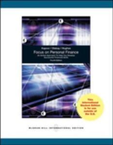 Focus on Personal Finance (Int'l Ed) - Jack R. Kapoor,Les R. Dlabay,Robert J. Hughes - cover