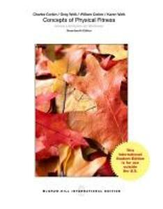Concepts of Physical Fitness: Active Lifestyles for Wellness (Int'l Ed) - Charles B. Corbin,Gregory J. Welk,William R. Corbin - cover