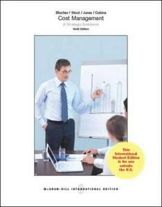 Cost management. A strategic emphasis - copertina