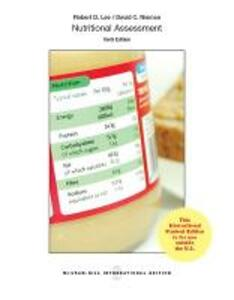 Nutritional Assessment (Int'l Ed) - Robert D. Lee,David C. Nieman - cover