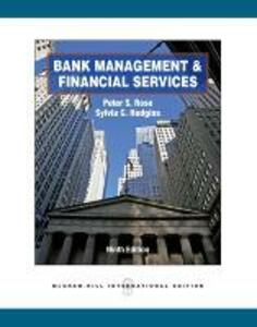Bank Management & Financial Services (Int'l Ed) - Peter S. Rose,Sylvia C. Hudgins - cover