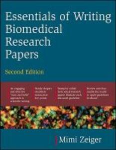 Essentials of Writing Biomedical Research Papers. Second Edition - Mimi Zeiger - cover