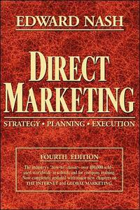 Direct Marketing: Strategy, Planning, Execution - Edward L. Nash - cover