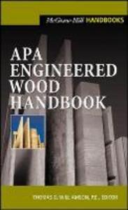 APA Engineered Wood Handbook - Thomas G. Williamson - cover