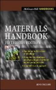 Materials Handbook - John A. Vaccari - cover