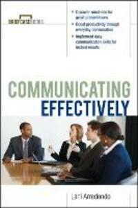 Communicating Effectively - Lani Arredondo - cover