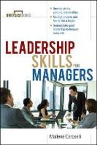 Leadership Skills for Managers - Marlene Caroselli - cover