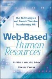 Web-Based Human Resources - Alfred J. Walker - cover