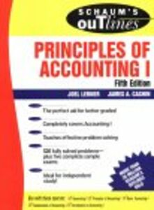 Ebook in inglese Principles of Accounting I Cashin, James A. , Lerner, Joel