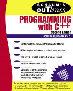 Foto Cover di Programming with C++, Ebook inglese di John R. Hubbard, edito da McGraw-Hill