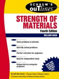 Foto Cover di Schaum's Outline of Strength of Materials, Ebook inglese di William Nash, edito da McGraw-Hill Education