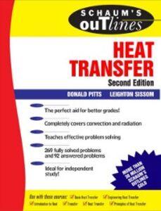 Foto Cover di Schaum's Outline of Heat Transfer, Ebook inglese di Donald Pitts,Leighton E. Sissom, edito da McGraw-Hill Education