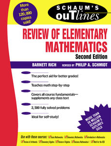 Ebook in inglese Review of Elementary Mathematics Rich, Barnett , Schmidt, Philip A.