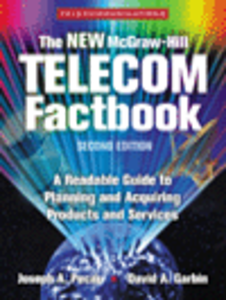 Ebook in inglese The New McGraw-Hill Telecom Factbook Garbin, David A. , Pecar, Joseph A.