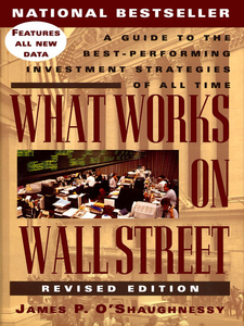 Ebook in inglese What Works on Wall Street O'Shaughnessy, James P.