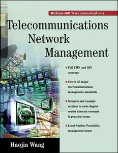 Ebook in inglese Telecommunications Network Management Wang, Haojin