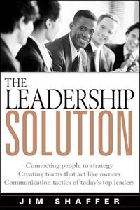Ebook in inglese The Leadership Solution Shaffer, Jim