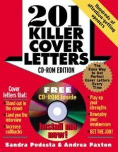Ebook in inglese 201 Killer Cover Letters Paxton, Andrea , Podesta, Sandra