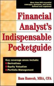 Ebook in inglese Financial Analyst's Indispensible Pocket Guide Ramesh, Ram