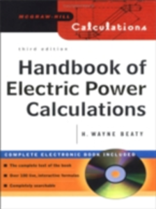 Ebook in inglese Handbook of Electric Power Calculations Beaty, H. Wayne