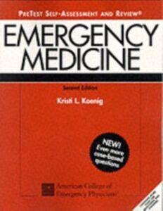 Ebook in inglese Emergency Medicine PreTest Koenig, Kristi L.