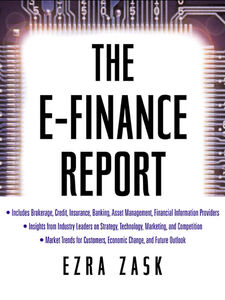 Ebook in inglese The E-Finance Report Zask, Ezra