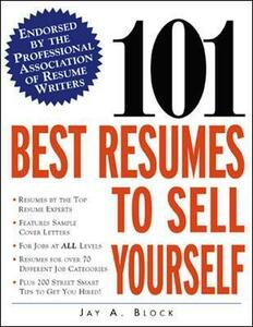 101 Best Resumes to Sell Yourself - Jay A. Block - cover