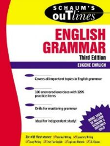 Ebook in inglese Schaum's Outline of Theory and Problems of English Grammar Ehrlich, Eugene
