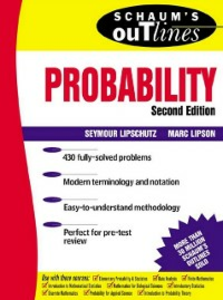 Ebook in inglese Schaum's Outline of Probability, 2nd Edition Lipschutz, Seymour