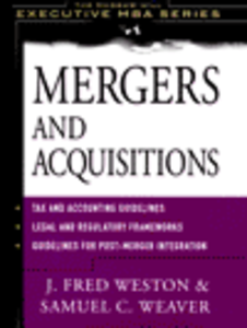 Ebook in inglese Mergers and Acquisitions Weaver, Samuel C. , Weston, J. Fred