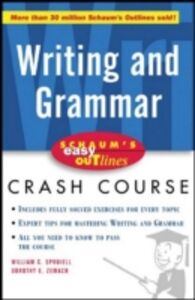 Ebook in inglese Schaum's Easy Outline of Writing and Grammar Spruiell, William , Zemach, Dorothy