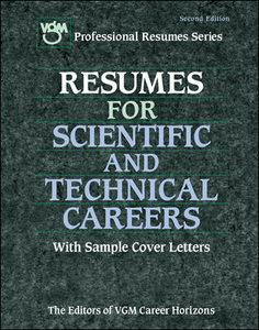 Ebook in inglese Resumes for Scientific and Technical Careers Editors of VGM Career Books
