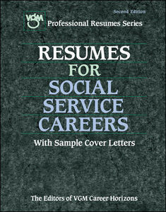 Ebook in inglese Resumes for Social Service Careers Editors of VGM Career Books