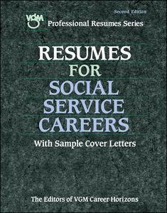 Foto Cover di Resumes for Social Service Careers, Ebook inglese di Editors of VGM Career Books, edito da McGraw-Hill