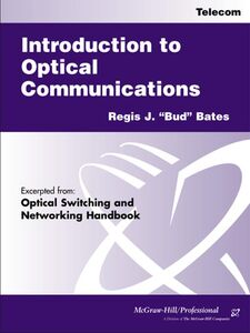 Foto Cover di Introduction to Optical Communications, Ebook inglese di Regis J. Bates, edito da McGraw-Hill